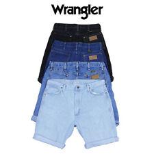 """Wrangler Mid 7 to 13"""" Inseam Patternless Shorts for Men"""