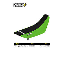 1982-2002 KAWASAKI KX 60 Green/Black FULL GRIPPER SEAT COVER BY Enjoy MFG