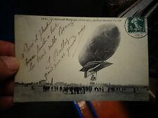 L'AERONEF MALECOT Moteur Buchet : Ballon Dirigeable genre Zeppelin