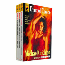 Michael Crichton 3 Book Set Collection Inc Drug of Choice Binary Easy Go