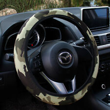 "15"" Universal Stretchy Camo Camouflage Neoprene Car Steering Wheel Cover Grip"
