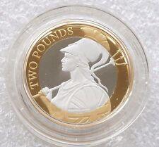 2015 Britannia Definitive Piedfort £2 Two Pound Silver Proof Coin Box Coa