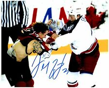 Calgary Flames DARREN MCCARTY Signed Autographed 8x10 Pic D
