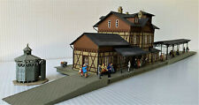Faller 112 HO Bahnhof Nieder Ramstadt - Assembled