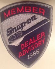 Snap On Tools Collectable Member Dealer Advisory 1986 RARE LIMITED ANTIQUE