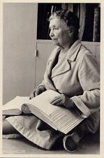 Helen Keller,Westport, Conn 1954•Miracle Worker•Deaf Blind Advocate POSTCARD