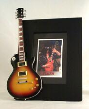 SLASH  Miniature Guitar Frame  LP Guns N' Roses