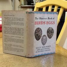 Observers Book Of Birds Eggs 1958 Scarce Code 783.458