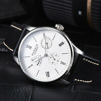 Parnis Power Reverse Automatic Movement Men Casual Watch Stainless Steel Case