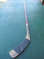 "Vintage Wooden 58"" Long Hockey Stick SHER-WOOD PMPX 9950 IRON CARBON"
