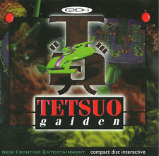 PHILIPS CDI TETSUO GAIDEN GAME SPIEL JEU CD-I GAME MAGNAVOX
