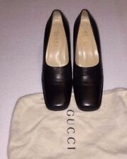 Gucci Platform CUBE Sculpted Heel Shoes Pumps Booties Block Loafer Sexy High 8