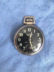 westclox scotty pocket watch...working