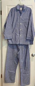 vintage brooks brothers mens pajamas M
