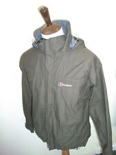 BERGHAUS AQUAFOIL JACKET SIZE SMALL BROWN