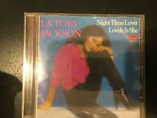RARE CD Latoya Jackson Self Titled Night Time Lover If You Feel The Funk POLYDOR