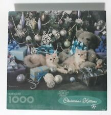 Springbok 1000 Piece Jigsaw Puzzle Christmas Kittens XZL6162 NEW