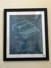 Steve Jobs Patent Poster Print - Framed Pre-Owned.