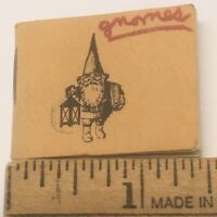 Little Gnome Facts 1978 Tiny Book UNIEBOEK Huygen Poortvliet Miniature Mini Vtg