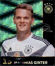 REWE WM 2018 Sammelkarten 13 - Matthias Ginter GLITZER