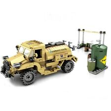 WW2 Military Army Water Tanker Vehicle Building Set Lego Com W/ Minifigures