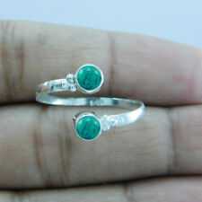 925 Sterling Silver Turquoise Handmade Toe Ring btr-164
