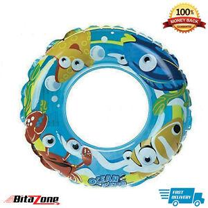 Swim Ring Pool Rings Inflatable Pool Floats for Kids Swim Tube Rings
