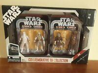 2006 Star Wars Commemorative Tin Snowtrooper, Luke, Han Solo, Chewbacca