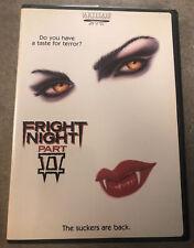 FRIGHT NIGHT PART II 2 DVD OOP RARE HORROR ORIGINAL AUTHENTIC