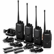 4 Pack Upgraded Walkie Talkies Long Range Two Way Radio Uhf 400~470Mhz 16Channel