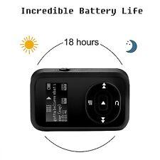 FecPecu Music Player, 8GB Clip Bluetooth MP3 Player, Hi-Fi Sound Portable Audio