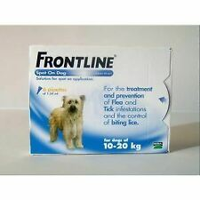 Frontline Spot On Medium Dog 10-20kg (6Pipettes) - 20050