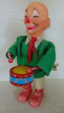 clown drummer - Vintage wind up toy