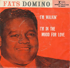 """7"""" - Fats Domino - I´m Walkin / I´m In The Mood For Love - Imperial X5428"""