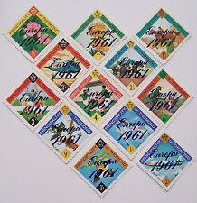 Ireland - Thomond - Set of 12 Stamps overprint Europa 1961 MNH