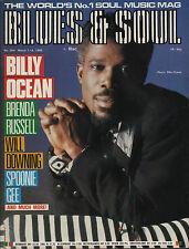 Billy Ocean Blues & Soul 1988    Brenda Russell   Gamble & Huff    Lou Rawls