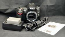 Nikon D90 12.3MP DX Format Digital SLR Camera Black Body Only