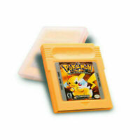 GBC Pokemon Special Pikachu Edition Yellow Nintendo GameBoy Color Cartridge Gift