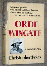 ORDE WINGATE A BIOGRAPHY BY CHRISTOPHER SYKES