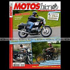 MOTOS D'HIER N°163 ★ BMW R 90 S ★ HONDA CB 500 FOUR ★ PEUGEOT PARIS-NICE 1913 ★