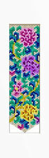 JACOBEAN FLORAL BEADED BANNER PDF PATTERN ONLY