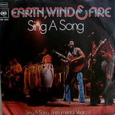 "7"" 1975 DANCE KULT VG+? EARTH WIND & FIRE Sing A Song"