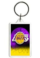 LOS ANGELES LAKERS NOVELTY PHOTO BASKETBALL KEYCHAIN