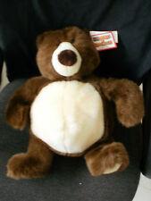 """15"""" Gund~Plush~Heads & Tales~Brown Teddy Bear~Nwt~Soft & Cuddly"""