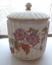 Rudolstadt Porcelain Biscuit  Cracker Jar