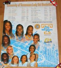 2007-08 Tennessee Lady Vols Basketball NCAA Game Day Promo poster Candace Parker