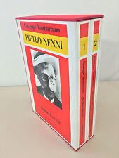 Pietro Nenni di Giuseppe Tamburrano 2 volumi + cofanetto Ed. Laterza 1987