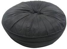Faux Silk Round Decorative Cushions