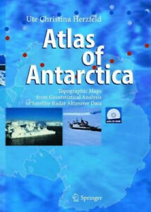 Atlas of Antarctica: Topographic Maps from Geostatistical Analysis of