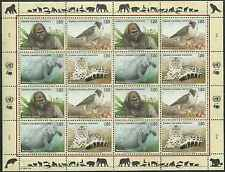 Timbres Animaux Nations Unies Genève F 243/6 ** année 1993 lot 4211